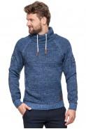 Sweter męski komin