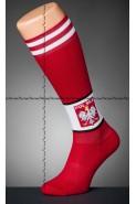 Polska - spodenki kibica - czerwone