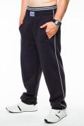 Spodnie dresowe męskie - 100% bawełna - ciemny grafit