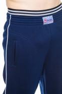 Spodnie dresowe męskie - 100% bawełna - granat