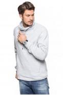 Bluza Komin - stójka - Japan Style - melanż