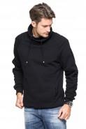 Bluza Komin - stójka - Japan Style - czarna