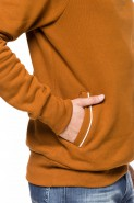 Bluza 3-er - Japan Style - stójka z kapturem - granat