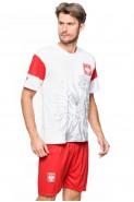 Polska - koszulka kibica - super orzeł - biała