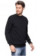 Klasyczna bluza bez kaptura - 100% bawełna - czarna