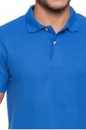Koszulka męska POLO - 100% bawełna - czarna