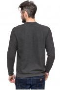 Sweter męski  - klasyczny - gładki - Dies
