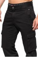 Spodnie bojówki - Stanley Jeans  -czarne