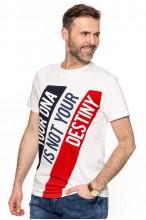Koszulka męska - Tshirt - Brooklyn DIV - biała