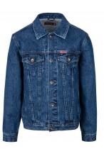 Kurtka męska - jeansowa - Stanley Jeans - 001