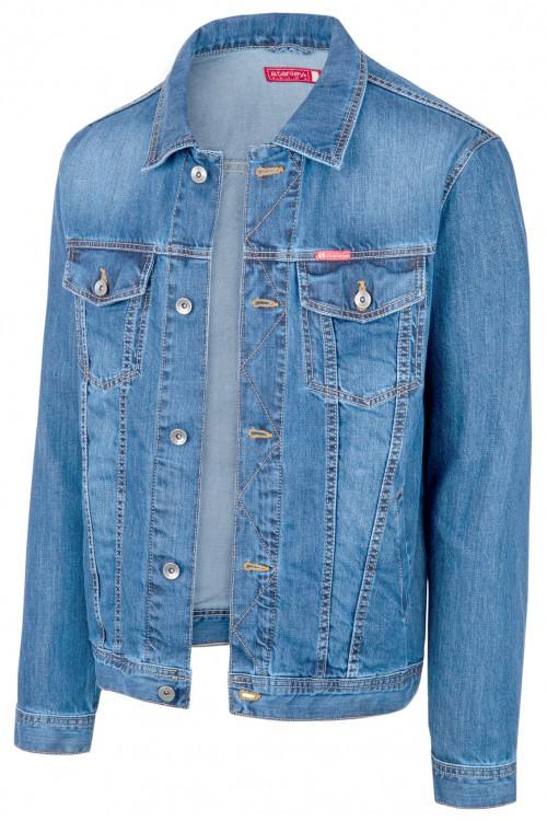 Kurtka męska - jeansowa - Stanley Jeans - 206