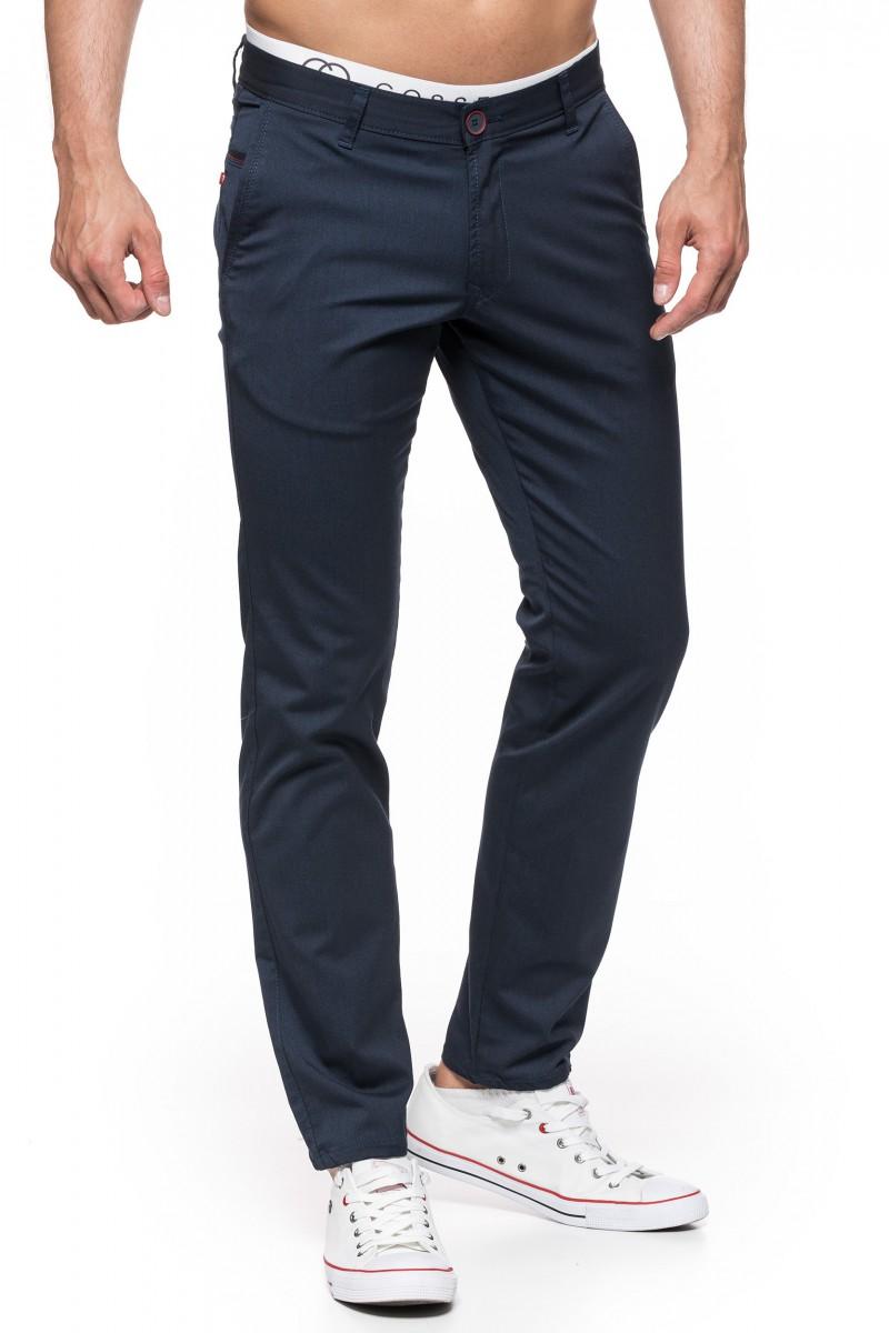 Spodnie bawełniane Stanley Jeans 411056 Betrendy.pl