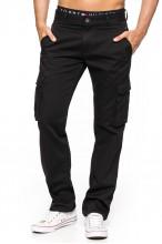 Spodnie męskie BOJÓWKI - Stanley Jeans - czarne