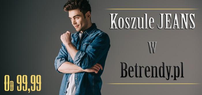 Koszule jeans w Betrendy.pl
