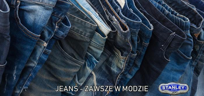 Zawsze modny jeans