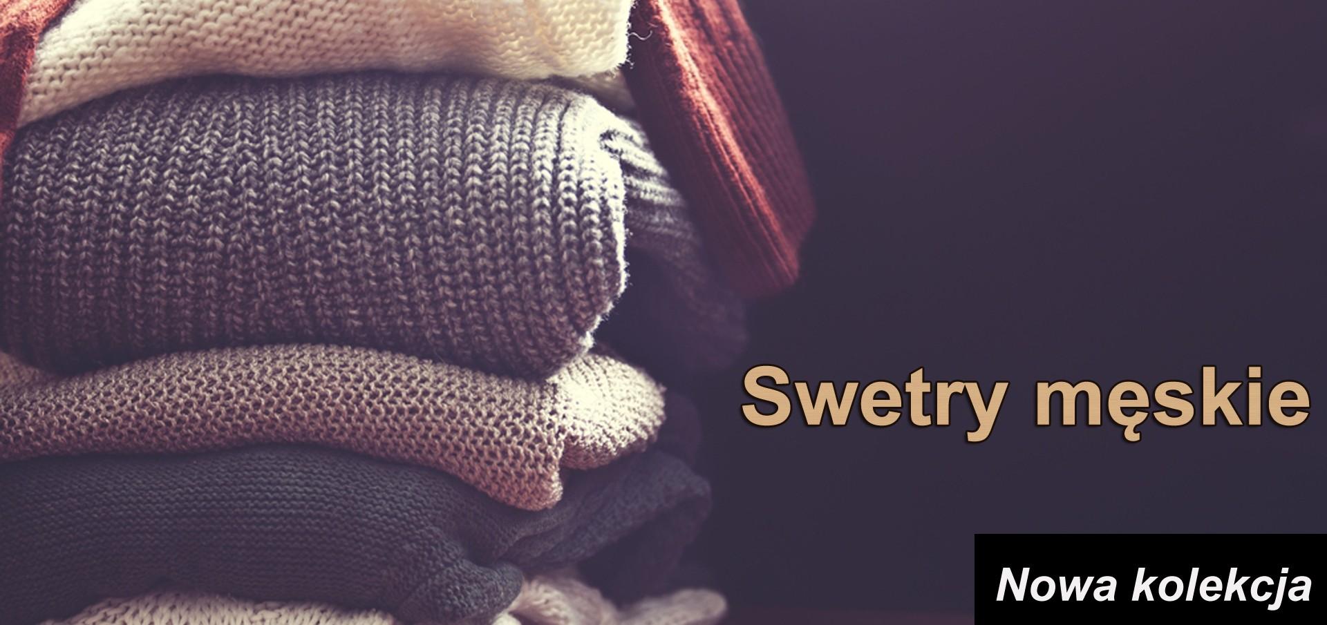 Swetry męskie w Betrendy.pl